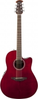 OVATION CS24-RR Celebrity Standard Mid Cutaway Ruby Red
