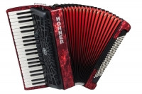 HOHNER The New Bravo III 120 A16831 red