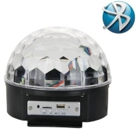 Laser Bomb LED Magic Ball 9 MP3 Boombox