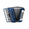Weltmeister Rubin 30/60/II/3 Small Keys Blue Marbled