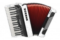 HOHNER The New Bravo III 72 white (A16611)