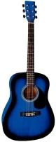 TENSON D1 Dreadnought Blueburst