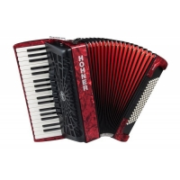 HOHNER A16731 The New Bravo III 96 red