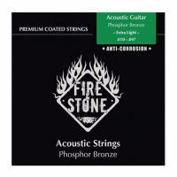 FIRE&STONE Acoustic Guitar Phosphor Bronze 12-string Extra Light 10-50 Coated