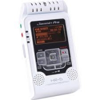 DJ-TECH HR5WHITE JAMMIN PRO WHITE DIGITAL VOICE RECORDER