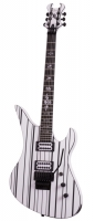 Schecter SYNYSTER CUSTOM WHT/BLK
