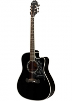 EPIPHONE Dave Navarro 'Jane' Acoustic/Electric Ebony