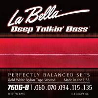 La Bella 760G Gold White Nylon