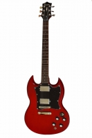 TENSON Nashville SD Set Neck Transparent Red