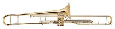 """Тромбон-помповый """"Bb"""" укороченная модель, 3-х помповый BRAHNER TBP-901SH – купить в Москве в интернет-магазине МУЗАККОРД"""