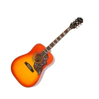EPIPHONE HUMMINGBIRD PRO ACOUSTIC/ELECTRIC W/SHADOW FADED CHERRY BURST