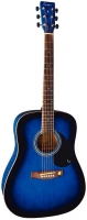 TENSON D10 Dreadnought Blueburst